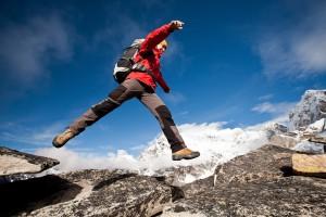 Skakanie w Himalajach